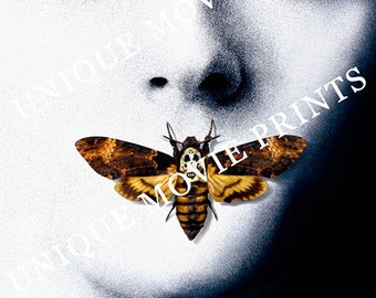 Silence of the Lambs - Jodie Foster - Custom hi-resolution print from the original Studio Artwork Transparency