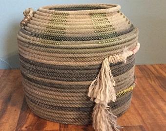 Triple Lariat rope basket