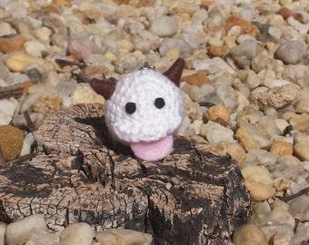 League of Legends Crochet Poro Phone Charm