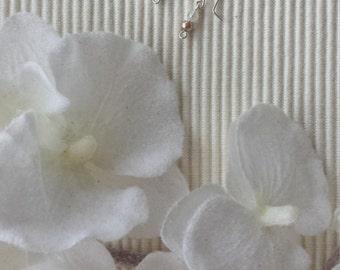 """Earrings """"soft rose"""""""