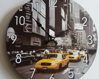 Wall Clock -  Home Decor - Wall Decor - Unique Wall Clock