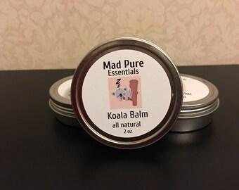 Koala Balm, a calming, sleep assisting cream