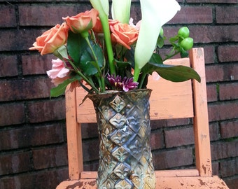 Fleur de lis vase or tumbler