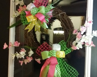 Spring/Summer Grapevine Wreath