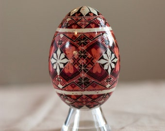 Valentine's Day Themed Pysanky in Pink