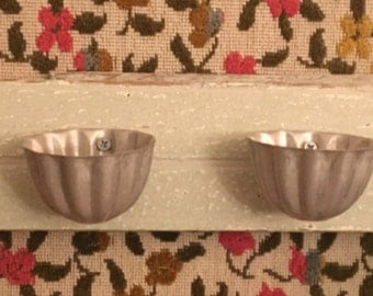 Reclaimed to Revived Living Wall Planter/Shabby Chic Petite Hanging Organizers