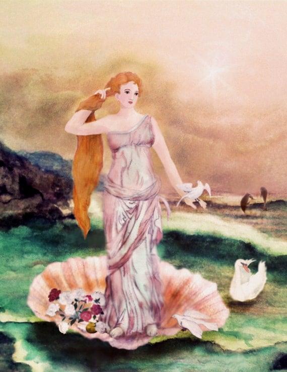 aphrodite goddess symbol - 570×737