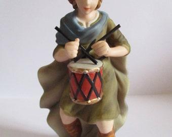 Little drummer boy, Hawthorne Village Thomas Kinkade Nativity Collection - Christmas Ornament - Christmas - Nativity