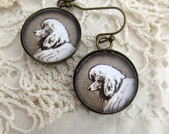 Poodle Dog Earrings