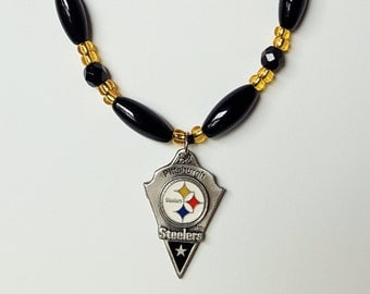 Pittsburgh Steelers Licensed Pendant  Necklace