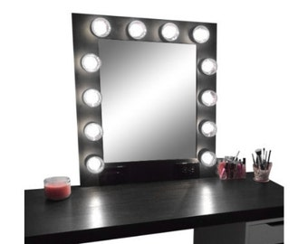 Black Matte Finish Van-Glo Vanity