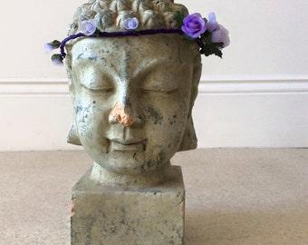 Garland, headband, flowers