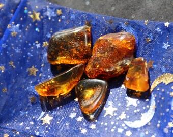 A Grade Amber Tumblestone