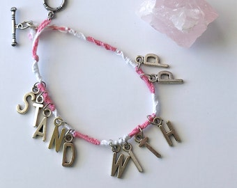 Stand With Planned Parenthood Bracelet