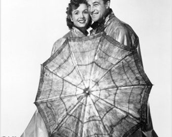 Gene Kelly Debbie Reynolds Singin' In The Rain Movie Still Poster Hot 24x36
