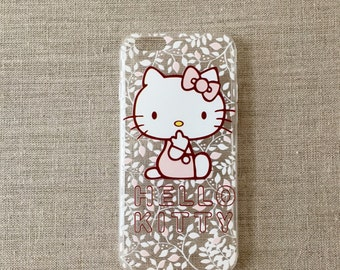 """Hello Kitty Clear Apple iPhone Case 6/6s 4.7"""" - Soft TPU Cases - #1"""