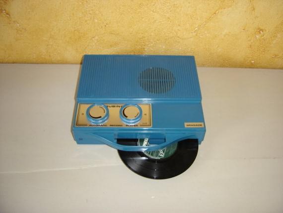 mange disque rubino granade automatic record player vintage. Black Bedroom Furniture Sets. Home Design Ideas