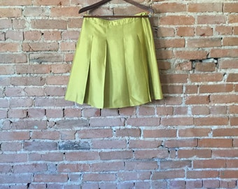 Silk JCrew Skirt