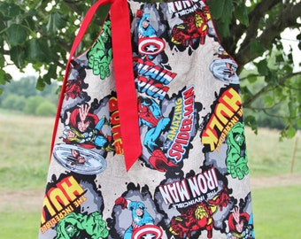 Avengers Marvel Girls Pillowcase Dress