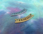 Feminist Banner Necklace - Gold or Silver Color Feminist Necklace - Feminist Jewelry - Pro Women - Feminist Gift - Gift for Feminist