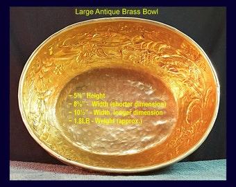 Vintage Brass Bowls
