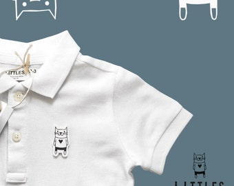 Littles polo shirt