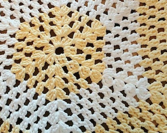 Chunky Hexagon Baby Blanket