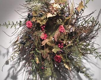 Wild Garden Wreath