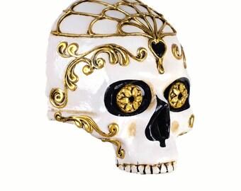 Skull Mask Day of Dead
