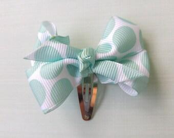 Mini Polka Dot bow