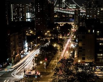 Manhattan bridge, New York, Manhattan, USA