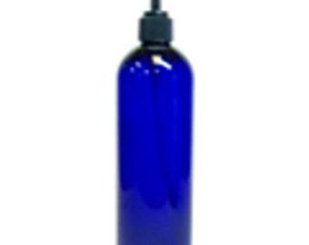 12 oz PET plastic bottle with pump