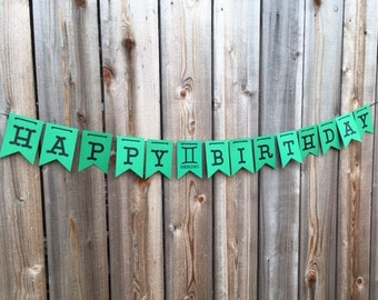 Zodiac Sign Happy Birthday Banner