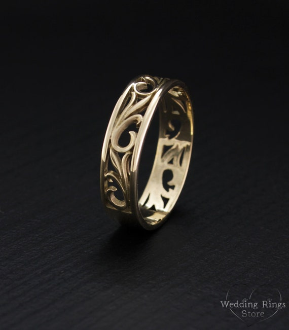 like this item - Nature Wedding Rings