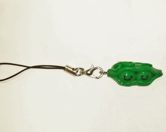Peas in a pod planner charm or phone clip