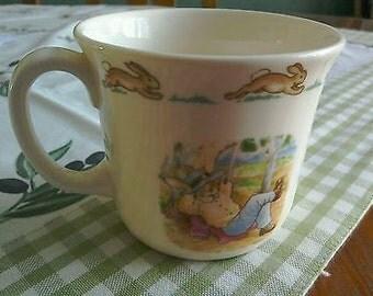 Vintage Royal Doulton Bunnykins Cup - Made for Australian Market