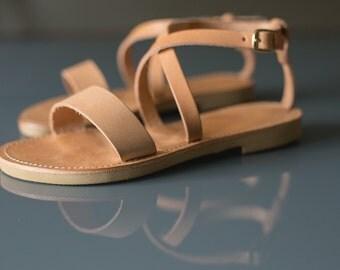 Sandals,Greek sandals,Ankle strap sandals,Leather sandals,Handmade,Women shoes,KASSANDRA,