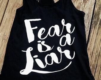 Fear is a Liar Women's Tank