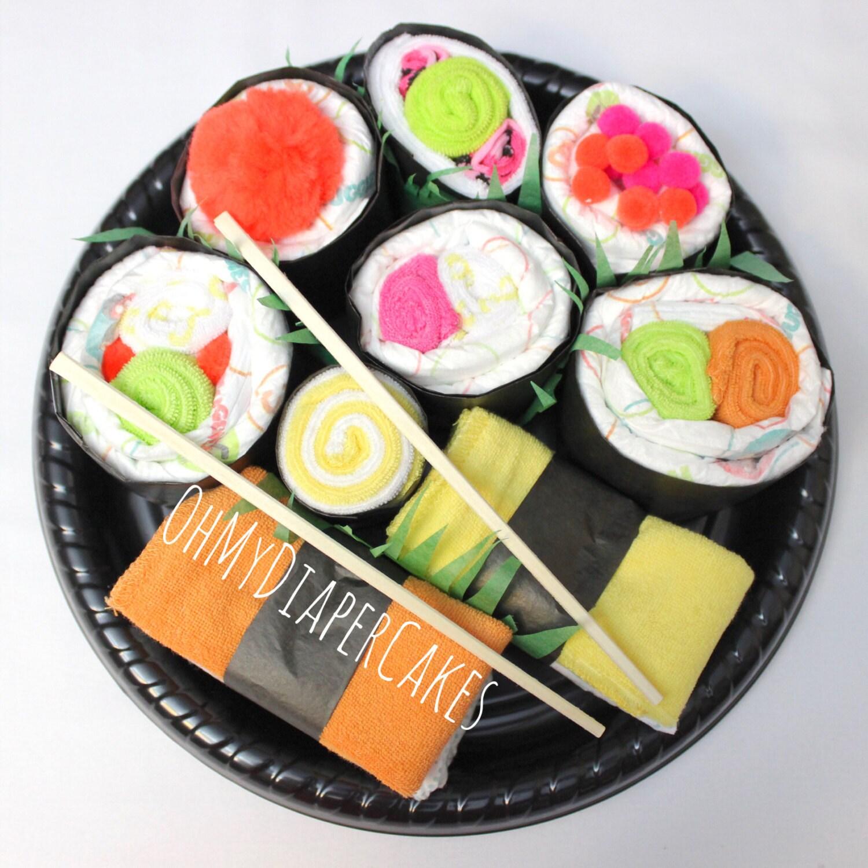 sushi roll  etsy, Baby shower