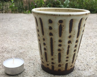 Stripe and Dot Cup