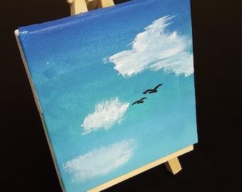 ORIGINAL - Mini Canvas Painting