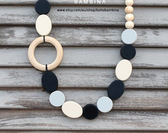 COUTURE COLLECTION - HIPSTER Silicone Fashion Necklace