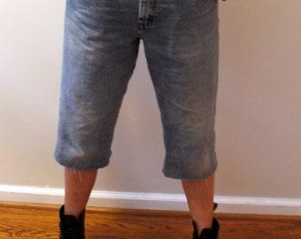 Wrangler Jeans Denim Culottes Sz 33