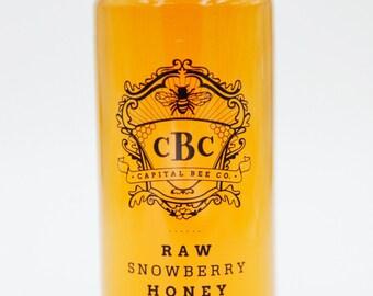 Raw Snowberry Honey 12oz