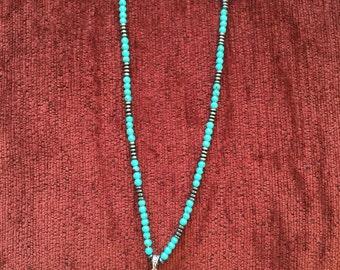 Turquoise Ganesh Necklace