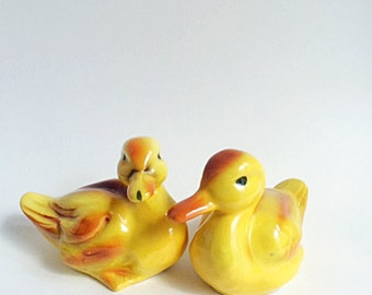 Goebel Ceramic Ducks, Set of Two
