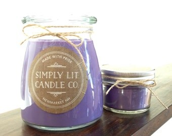 Scented Soy Candle - Love Spell Candle / Decorative Candle / Mother's Day Gift / Hand Poured Candle / Housewarming Gift / Thank you gift
