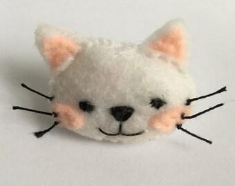 Kitty Plush Felt Pin