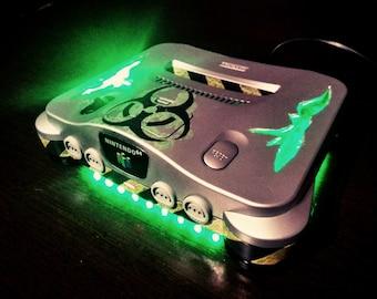 Nintendo 64 radioactive Custom N64 custom Biohazard