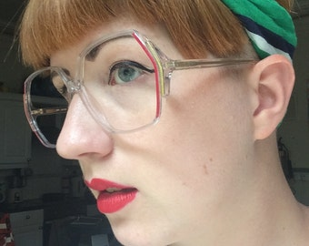 Vintage 80s Silhouette Spectacles / Glasses frames